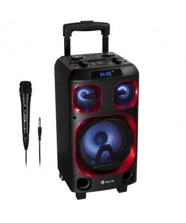 pompleto equipo musical DJ compatible con tecnologia bluetooth 42 120W de potencia de salida de piconbsp y excelente calidad de