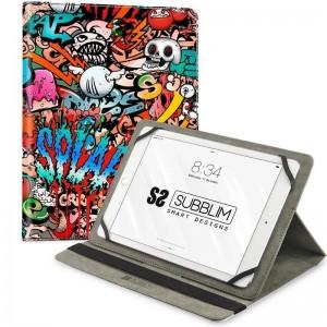 pTRENDY CASE es una funda universal para proteger tu Tablet Su estilo es moderno elegante y divertido desarrollado por disenado