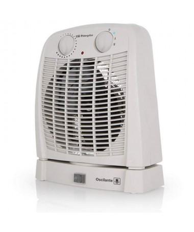 pul liCalefactor OSCILANTE li liSelector rotativo de 3 posiciones li liModo ventilador li li2 niveles de calor 1000W y 2000W li
