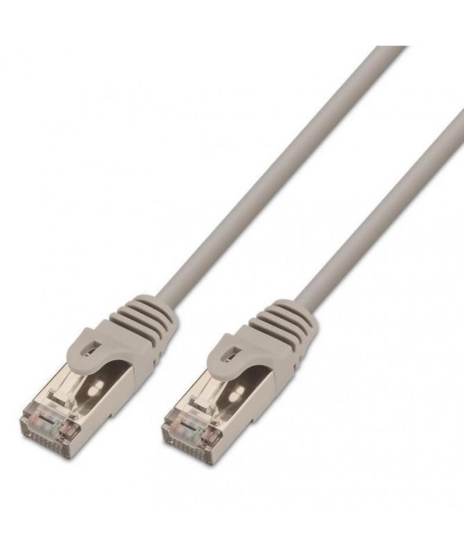 pAISENS 8211 Cable de red latiguillo RJ45 Cat6 FTP AWG24 gris 10 metros 10 100 1000 Mbit s Conmutador router modem panel de con
