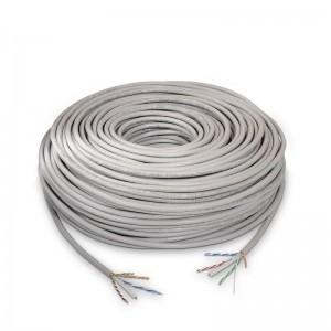 p pul liBobina cable de red CAT6 UTP AWG24 rigido 100 cobre calidad garantizada li liCumple las normativas ANSI TIA EIA 568 B 1