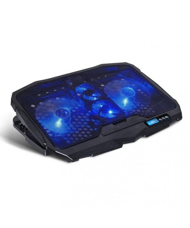 pulliUso ordenador portatil liliTamano maximo soportado 173 439 cm liliVentiladores 2 x 120 mm  2 x 70 MM liliLuz de fondo LED