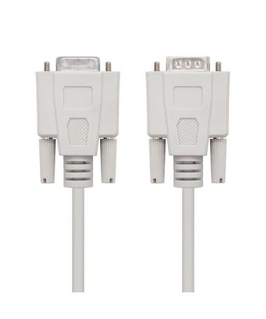 STRONGEspecificaciones tecnicasbr STRONGULLICable serie null modem con conector DB9 macho en un extremo y conector DB9 hembra e