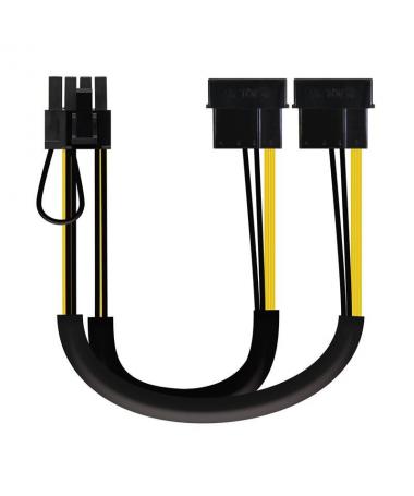 Cable de alimentacion para tarjeta grafica con conexion PCI e 6 pin o 8 pinbrh2brEspecificaciones tecnicas h2brULLILongitud de
