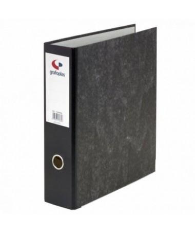 ULLICarton forrado interior y exteriormente con papel impreso reciclable LILIMecanismo de palanca niquelado LILICantonera larga