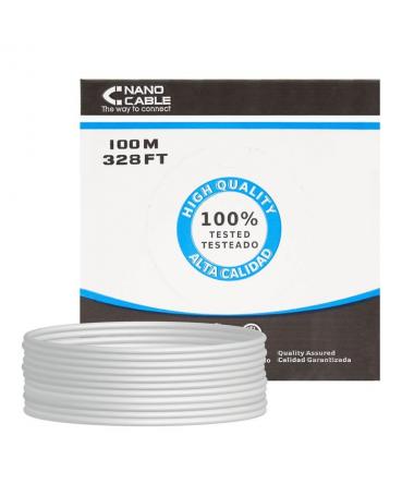 STRONGEspecificaciones tecnicasbr STRONGULLIBobina cable de red Cat 5e UTP AWG24 rigido calidad garantizada LILICumple las norm