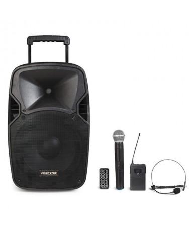 PAmplificador portatilBR2 microfonos inalambricos VHF de mano y petaca BR191 900 MHz y 174 300 MHz respectivamenteBRBluetooth y