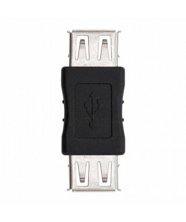 pAdaptador USB 20 con conector tipo A hembra en ambos extremosbrul liSe utiliza para unir dos cables USB con conector tipo A ma