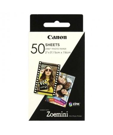 Combina el papel fotografico ZINK8482 con la impresora Canon Zoemini para transformar las instantaneas de tu telefono movil y t