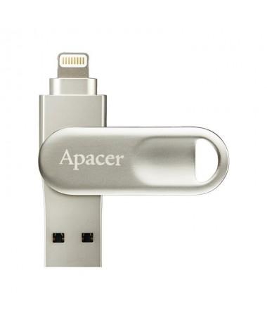 pul liColor Plata li liCapacidad 32GB li liInterfaz li ul liConector Lightning Certified li liConector USB tipo A SuperSpeed 82
