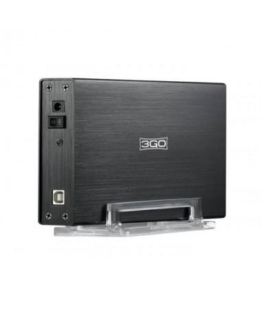 La carcasa de disco duro de 35 USB HDD35BKIS 3GO es un funcional adaptador para poder conectar sus discos duros a su PCbrFabric