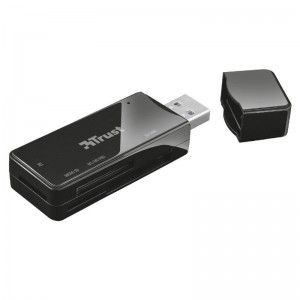 PLector de tarjetas USB 20 que funciona con todas las tarjetas de memoria utilizadas normalmente para transferir sus imagenes y