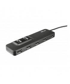 Hub USB 20 con 7 puertos ideal para conectar dispositivos USB adicionales al ordenador portatil y el PCh2brbrEspecificaciones t