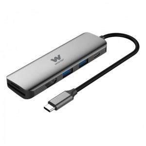 pul liAdaptador 2x USB 30 SD Micro SD 4K HDMI li liPuerto de carga con conexion Type C Power Devilery puede cargar tu dispositi