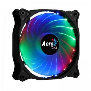 pVentilador de 120mm con conector Molex equipado con un sistema de iluminacion RGB fijo que proporciona una espectacular esteti