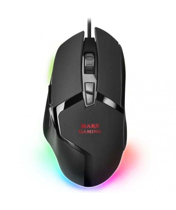 ph2RAToN GAMING MMGX h2Creado con una estructura ligera y optimizada que se adapta perfectamente a tu mano el MMGX te proporcio