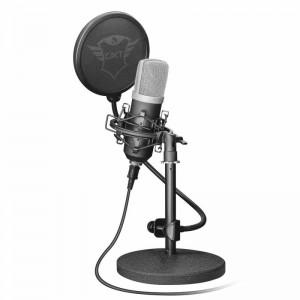 pMicrofono USB profesional para estudio con estuche con patron de grabacion cardioide de alta precision para musica en streamin