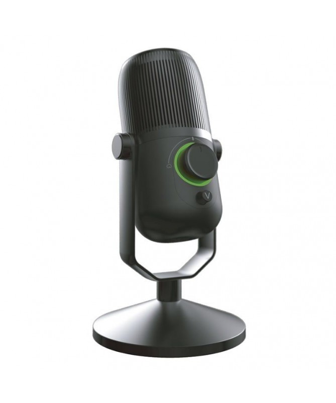 pWoxter Mic Studio 100 es un microfono de condensador ideal para grabar conversar o cantar por internet para jugar online o par