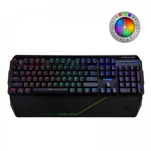pTeclado mecanico Gaming Stinger RX 2000 K  con luces led RGB seleccionables y Switches profesionales BYK816brNuevo Keyboard me