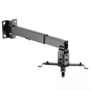 pAISENS 8211 Soporte universal inclinable y extensible de techo pared para proyector Fabricado con acero de alta resistencia y