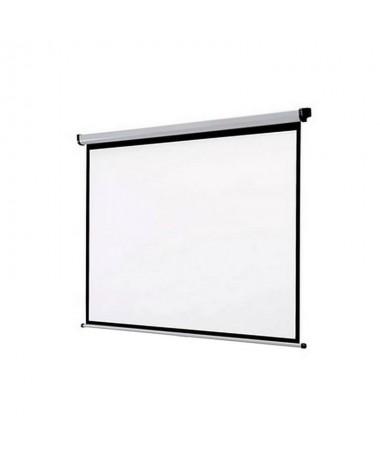 Con la pantalla de proyeccion mural de Approx obtendra un producto con una excelente calidad Con su retencion mecanica se puede