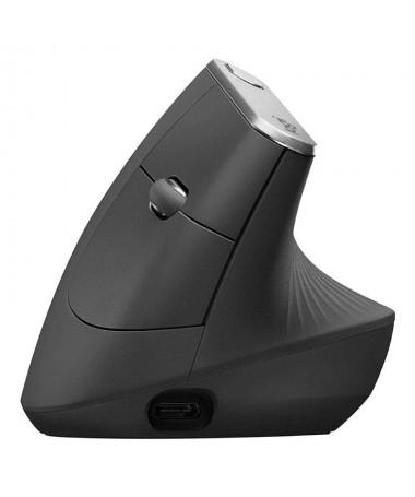 MX Vertical es un raton ergonomico avanzado que combina un diseno con base cientifica y el alto rendimiento de la serie MX de L