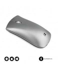 PRaton inalambrico Bluetooth 30 con borde de aluminio rueda metalizada y bateria recargable por USB Compatible con dispositivos