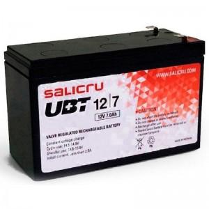Las baterias de la serie UBT de Salicru son sistemas recargables de plomo dioxido de plomo El electrolito de acido sulfurico se