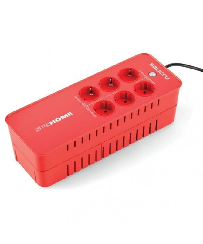 pul liTecnologia Off line li liDiseno base multiple con 6 tomas schuko li li4 bases con reserva SAI y proteccion de linea li li