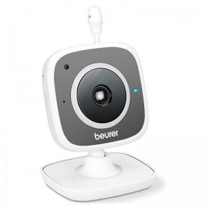 pCon este vigilabebes con camara HD orientable manualmente lo tendras todo bajo control en tu dispositivo movil con la aplicaci