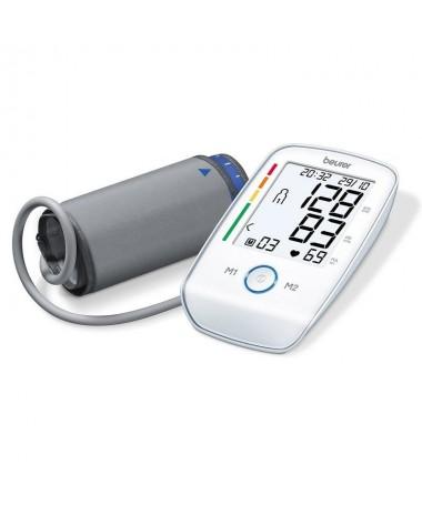 pEste tensiometro de brazo mide tu presion arterial de forma completamente automatica y siguiendo las directrices de la OMS Su