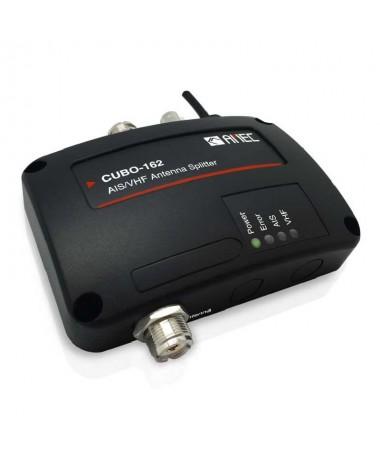 pEl diplexor de senal VHF AIS CUBO 162 es el repartidor de antena AIS de AMED que permite el uso de la radio VHF y el transpond