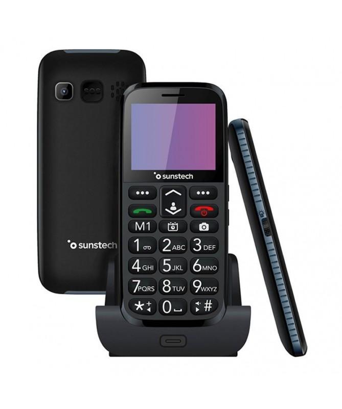 pDisenado especificamente para personas mayores Boton de emergencia con llamada a 6 numeros especificos y envio de SMS de emerg