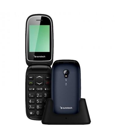 pTelefono movil compacto de diseno elegante y teclas grandes que facilitan su uso Con tecnologia GSM 850 900 1800 1900 pantalla