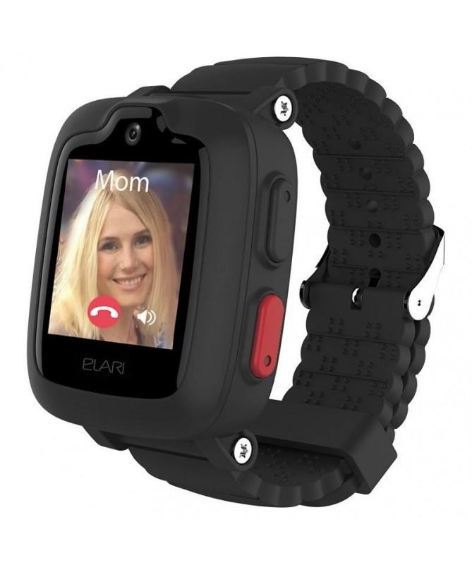 pEl Elari KidPhone 3G esta equipado con un modulo de seguimiento GPS LBS Wi Fi para que los padres puedan monitorizar la ubicac