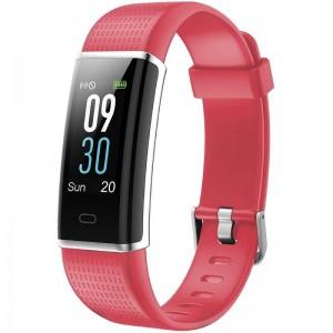 pliConectividad Bluetooth v40 Rango de alcance 10 metros liliPantalla TFT LCD de 096 244 cm y boton tactil liliMaterial TPU Tec
