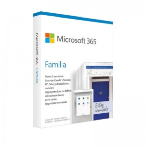 ULLIH2Microsoft 365 Family 6 usuarios 1 ano de suscripcion Multidispositivo H2 LILISuscripcion anual para 6 PCs o Macs 6 tablet