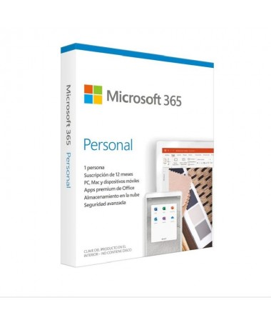 LIH2Microsoft 365 Personal 1 usuario 1 ano de suscripcion Multidispositivo H2 LILISuscripcion anual para 1 PC o Mac 1 tableta i