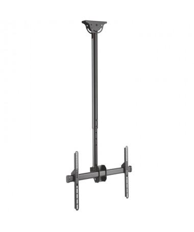 pAISENS 8211 Soporte de techo giratorio inclinable extensible y nivelable para monitor TV de 378221 708221 Fabricado con acero