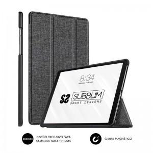 pul liFunda exclusiva para la Tablet Samsung GT A T510 515 li liResistente material exterior con acabado en Cloth li liBordes r