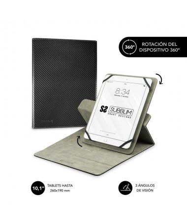 pul liFunda para Tablet compatible con todos los modelos de hasta 101 li liResistente material exterior con acabado en simil Fi