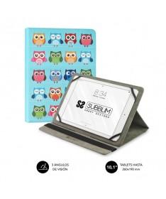 pul liFunda para Tablet compatible con todos los modelos de hasta 101 li liResistente material exterior con acabado en simil pi