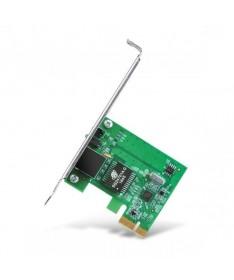 Adaptador PCIe 10 100 1000Mbps Interfaz PCIe 32 bit ahorrando el espacio limitado del armazonWake on LAN adecuada para gestion