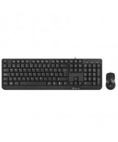 pul liConjunto de teclado y raton con cable que destaca por su funcionalidad sus caracteristicas tecnicas facilitaran a los usu
