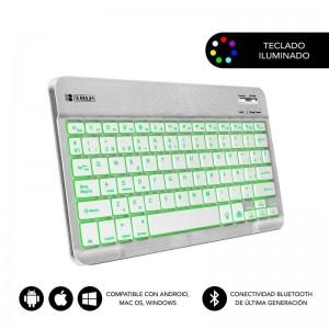 pSmart Backlit BT es el teclado ideal para transportar en cualquier lugar gracias a su reducido tamano y peso ultraligero Las t
