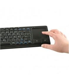 pul liTeclado inalambrico con touchpad de gran tamano 9 cm  negro li liBotones adicionales de raton li liCarcasa compacta   Apr
