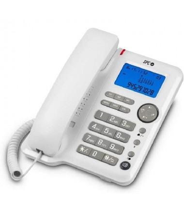 pEl telefono con cable OFFICE ID con gran pantalla iluminadabrbrul li3 memorias directas li liManos libres li liPantalla ilumin