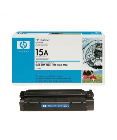 PToner HP 15A Negro PPSTRONGCompatibilidades STRONG PULLILaserJet 1000 LILILaserJet 1005 LILILaserJet 1200 LILILaserJet 1220 LI