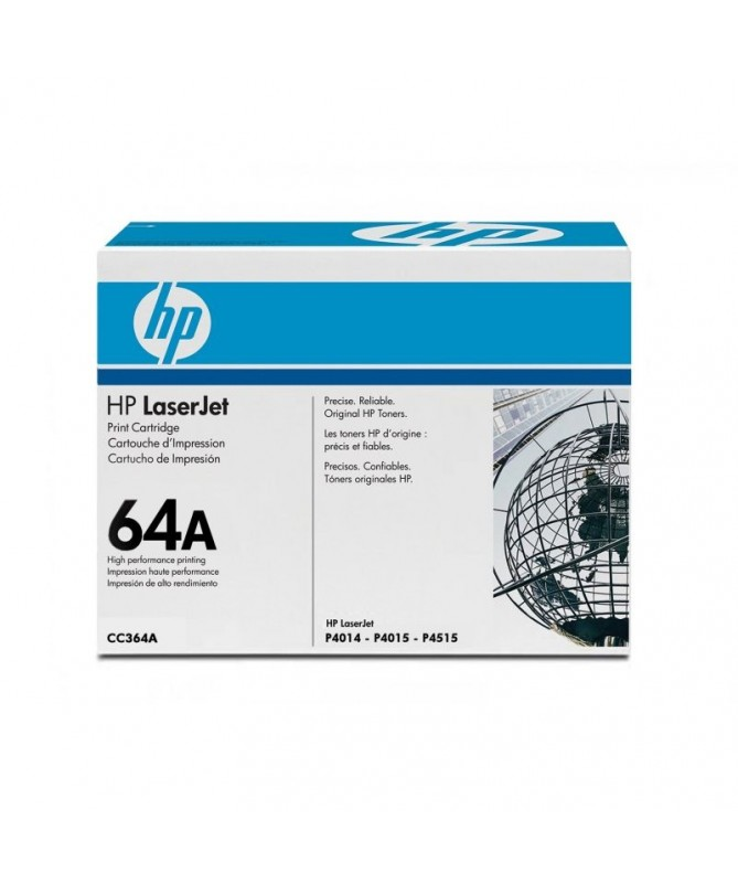 pToner Negro para HP Laserjet P4015 P4014 P4515 hasta 10000 paginas p