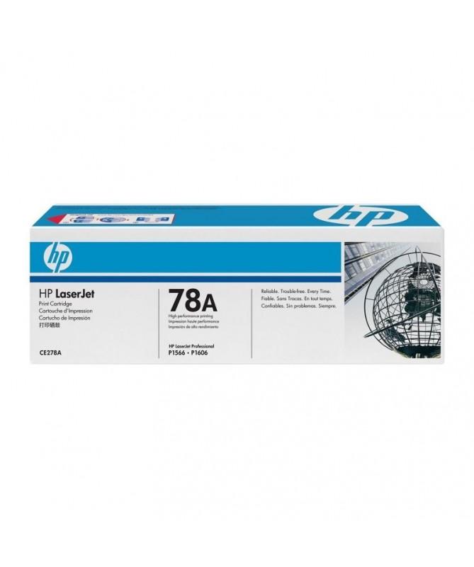 PToner negro HP CE278A hasta 2100 paginas Para HP P1566 y P1606DN P